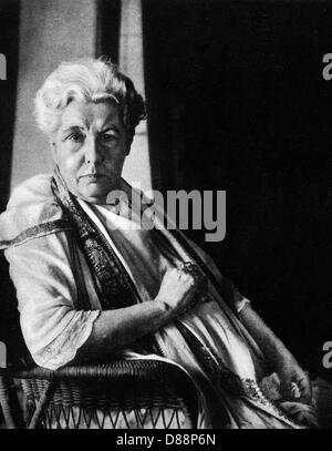 Annie Besant In 1920 - Stock Photo