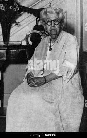 Annie Besant Ilz 1933 - Stock Photo
