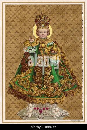 Holy Infant Of Prague - Stock Photo