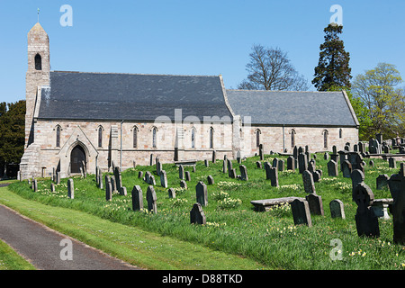 The Parish Church of St Michael & All Angels,Ford - Stock Photo