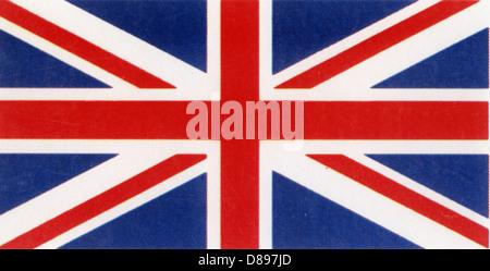 UNION JACK flag of the United Kingdom - Stock Photo