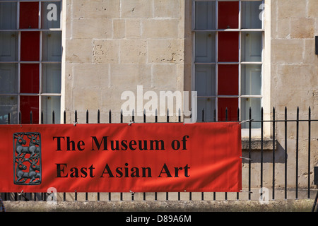 The Museum of East Asian Art at Bath in April - Stock Photo