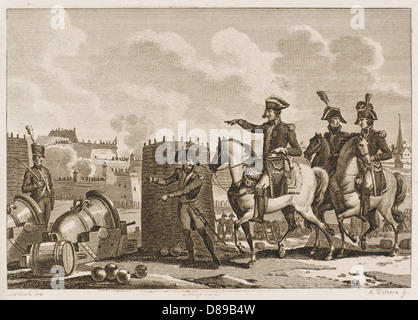 Siege Of Danzig - Stock Photo
