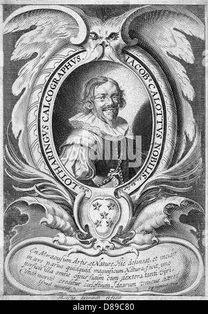 Jacques Callot - Stock Photo