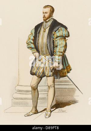 Felipe Ii Of Spain - Stock Photo