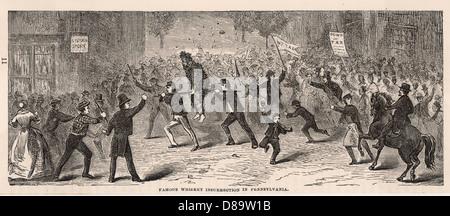 Whiskey Rebellion - Stock Photo