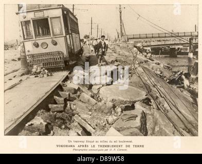Earthquake In Japan 1923 - Stock Photo