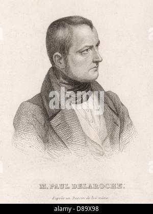 Hippolyte Delaroche 1 - Stock Photo