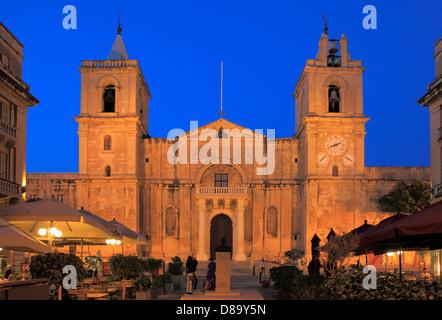 Malta, Valletta, St John's Co-Cathedral, - Stock Photo