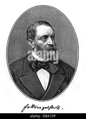 Franz V Dingelstedt 2 - Stock Photo