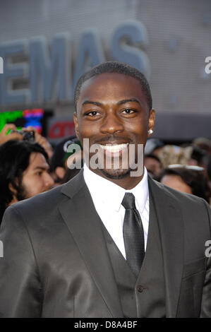 Los Angeles, California, USA. 21st May 2013. David Ajala during the premiere of the new movie from Universal Pictures - Stock Photo
