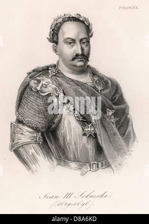 Jan Iii Sobieski - Stock Photo