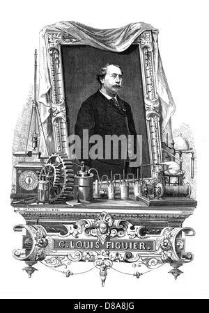 Louis Figuier 4 - Stock Photo