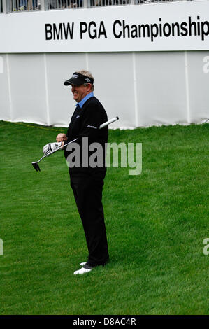Wentworth, UK 21st May 2013.  practice ahead of the BMW Championships. - Stock Photo