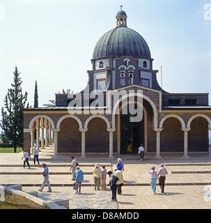 Church of the Beatitudes, Galilee, Israel - Stock Photo