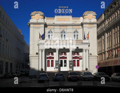 Teatrul Odeon, the Odeon Theatre, Bucharest, Romania - Stock Photo
