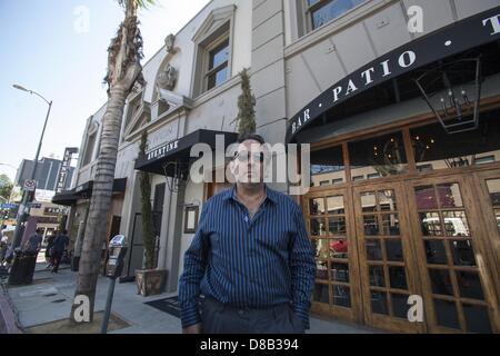 May 14, 2013 - Los Angeles, California, U.S - Richard Heyman, hotel developer, owner of Five Chairs Development - Stock Photo