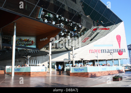 Mare Magnum building in Barcelona, Spain - Stock Photo