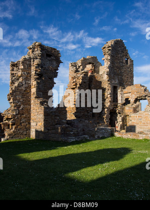 Scotland, Orkney Islands, Mainland Orkney. Earl's Palace in Birsay, built between 1569 and 1574 by Lord Robert Stewart - Stock Photo