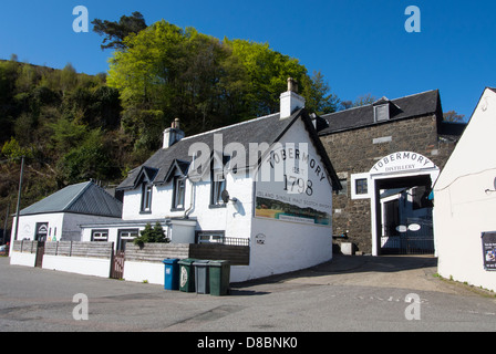 The Whisky distillery at Tobermory. - Stock Photo