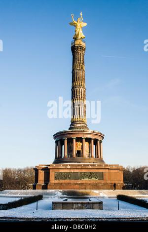 Victory Column (Siegessäule). - Stock Photo