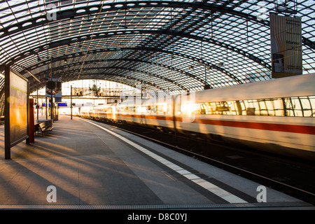 Berlin Central Train Station (Berlin Hauptbahnhof). - Stock Photo