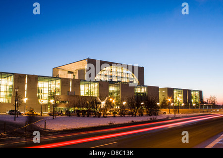 German Chancellery (Bundeskanzleramt). Berlin, Germany. - Stock Photo