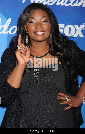 CANDICE GLOVER Winner of 12th Season of  American Idol TV show. Photo Jeffrey Mayer - Stock Photo