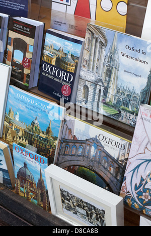 books in shop at Oxford, UK in May - Stock Photo