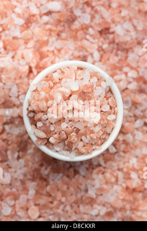 Asia Backgrounds Close-up Colour Image Crystal Elevated View Ferrous Sulphate Food Dressing Himalayas Mineral No - Stock Photo