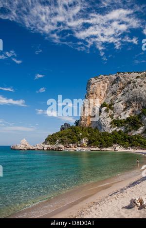Cala Luna, Italy, Sardinia, Olbia Tempio province - Stock Photo