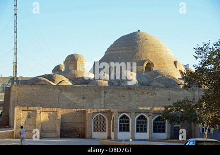 Covered bazaars in Bukhara - Stock Photo