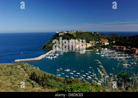 italy, tuscany, argentario, porto ercole - Stock Photo