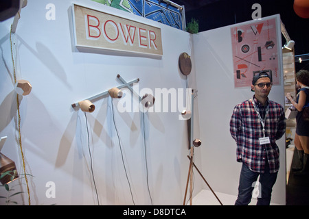 Brooklyn Designs furnishings exhibition - Stock Photo