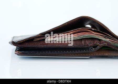 Banknotes in wallet - Stock Photo