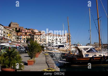 italy, tuscany, argentario, porto santo stefano - Stock Photo
