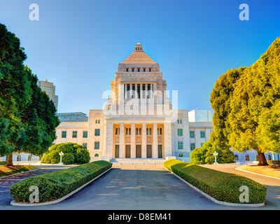 House of Councillors in Tokyo, Japan. - Stock Photo