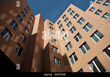 The Ray and Maria Stata Center, designed by famed architect Frank Gehry , on the campus of MIT in Cambridge, Massachusetts. - Stock Photo