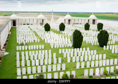 Dud Corner Cemetery Loos - Stock Photo