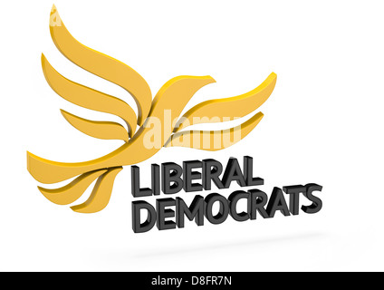Liberal Democrats Logo - Stock Photo