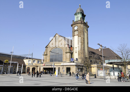 Main railway station - Stock Photo