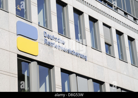 German pension insurance - Stock Photo