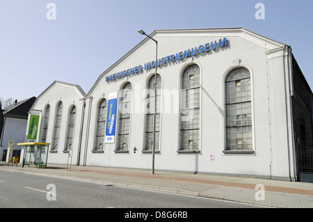 Former zinc factory Altenberg - Stock Photo