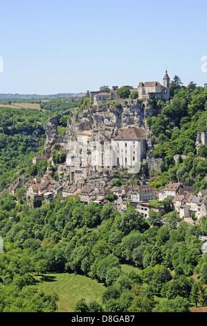 Basilica of Saint-Sauveur - Stock Photo