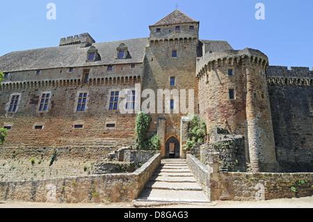 Chateau de Castelnau - Stock Photo