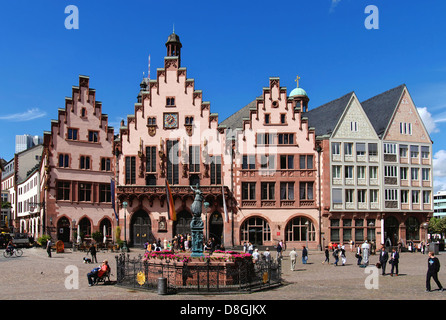 Frankfurt old townhall - Stock Photo
