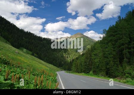 Samnaun - Stock Photo