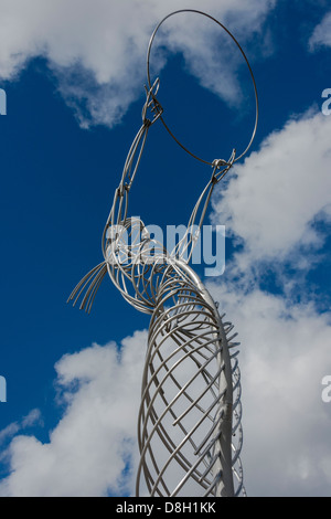 Thanksgiving Sculpture Belfast - Stock Photo