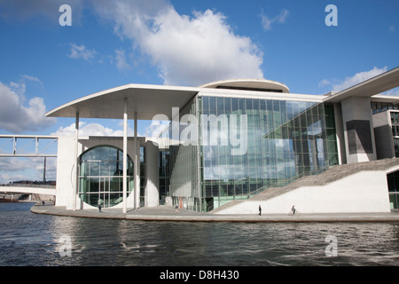 Bundeskanzleramt, Federal Chancellery, Berlin, Germany - Stock Photo