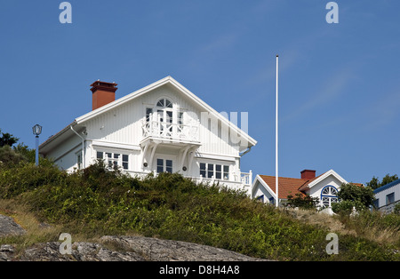 Holiday Home, Sweden - Stock Photo